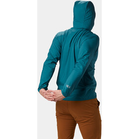 Mountain Hardwear Kor Preshell Giacca con cappuccio Uomo, dive